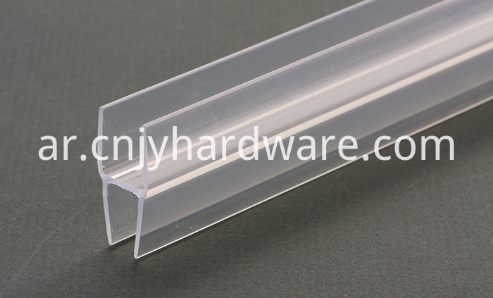 8mm Glass Waterproof Seal shower screen rubber seal