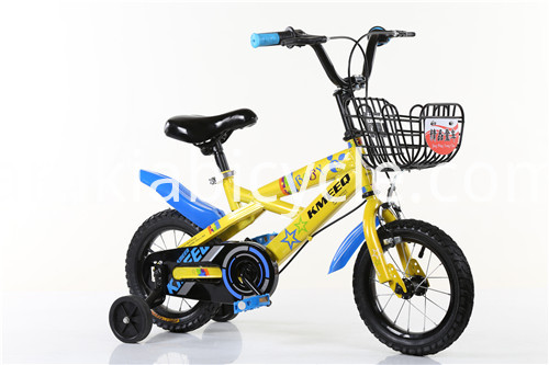 Child Bikes with steel basket