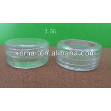 2.5g cream jar