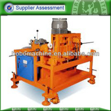 Steel strand pushing machine