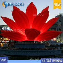 Popular Event Wedding Party Decorative LED Lighted Inflatable Flowers