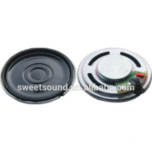 small size and rich sound reproduction diameter 23mm 16ohm mini speaker