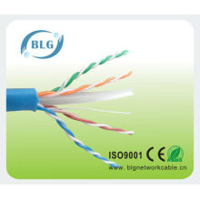 Competitive price from BLG factory 23AWG Cat6 lan cable