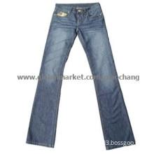 Fashion Straight Leg Womens Jeans