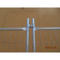 Galvanisierter Stahl Temporärer Zaun für Bauwesen