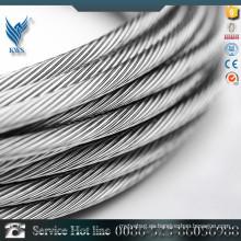 Aisi 301 muelle de alambre de acero inoxidable / cable de acero de 16 mm utilizado