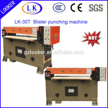 economic punching machine for plastic blister clamshell