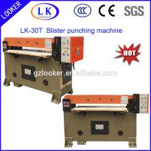 Auto máquina de perfuração da imprensa hidráulica para plástico Blister Clamshell