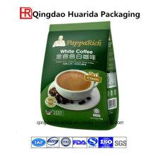 Kaffee-Verpackungstasche mit Reißverschluss aufstehen