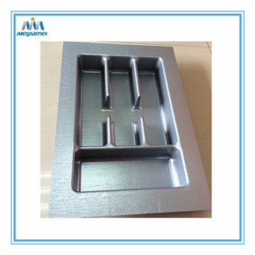 Wholesale PriceList for China supplier of Cutlery Trays For Drawers 400Mm, Plastic Cutlery Trays Drawers 400Mm Cut to Size Silver Plastic Tray supply to United States Suppliers