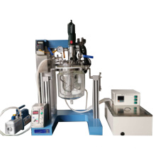 Homogeneizador al vacío de laboratorio con emulsionante