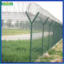 Venta caliente aeropuerto anti-subida soldada valla de malla de alambre