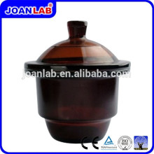 JOAN Lab Amber Glass Desiccator With Porcelain Plate Supplier