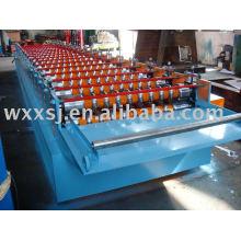 Máquina formadora de rollos de corrugado de aluminio