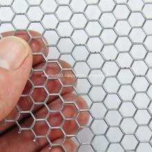 Hexagonal Hole Galvanized Perforated Metal Mesh