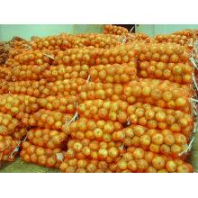 Nueva cosecha fresca de cebolla fresca en granel