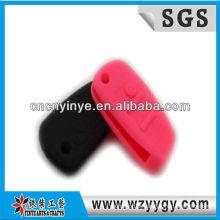 Popular nova concepção do silicone tampa chave remota com logotipo