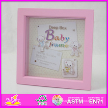 2014 Hot Sale New High Quality (W09A019) En71 Light Classic Fashion Picture Photo Frames, Photo Picture Art Frame, Wooden Gift Home Decortion Frame