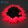 NEW DESIGN Luzes de fio LED RGB decorativas de Natal
