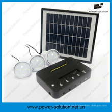 Leuchten Sie 3rooms Solarbetriebenes Energiesystem für Off-Grid-Bereiche