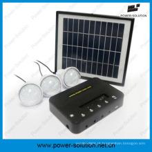 Acender o sistema de energia solar 3rooms para áreas fora da grade