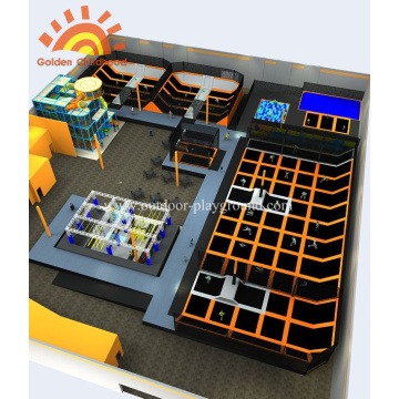 Neues Design Sky Multifunktionaler Trampolinpark