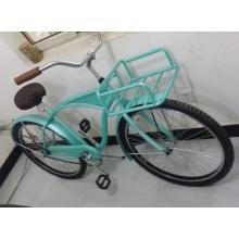 Bicicleta nova da praia 2015 com a bicicleta dianteira do cruzador do portador (FP-BCB-C036)