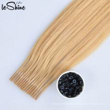 Full Cuticle Keratin I Spitze Haar / U Tipp Haar / Flache Spitze Prebonded Haarverlängerung