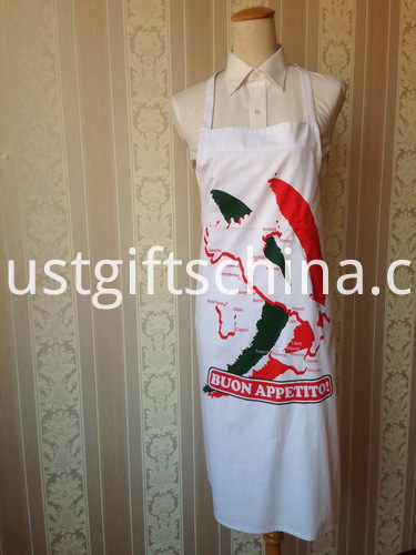 Promotional Logo Printed Aprons - 190GSM Cotton