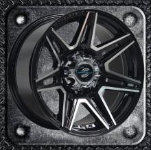 Heavy SUV wheel with big cap