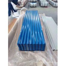 Tôle d'acier / plaque de toiture galvanisée de couleur