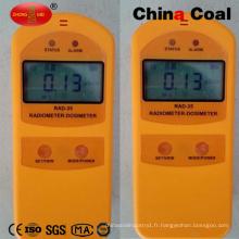 Compteur de radiations gamma et bêta de charbon de la Chine Rad-35