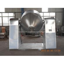 Secador de pó de cone duplo de pó químico orgânico