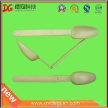 Cuchara plegable de plástico de polvo y cucharada sólo para la venta al por mayor