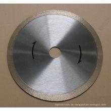 Kontinuierliche Reim-Diamant-Sägeblatt für Hartstein