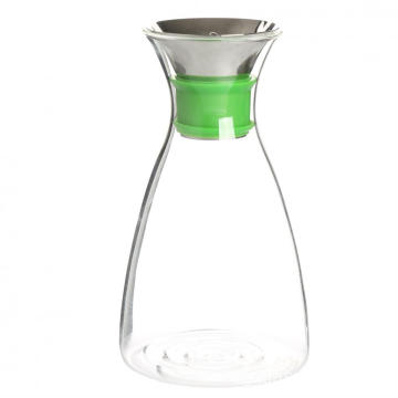 High Quality Clear Glass Water Filter Pitcher