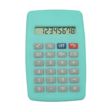 8 Digits Mini Candy Color Pocket Calculator