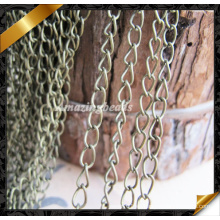 Joyería de bronce de cadena de metal de metal, collar y cadena de pulsera suministros (RF054)