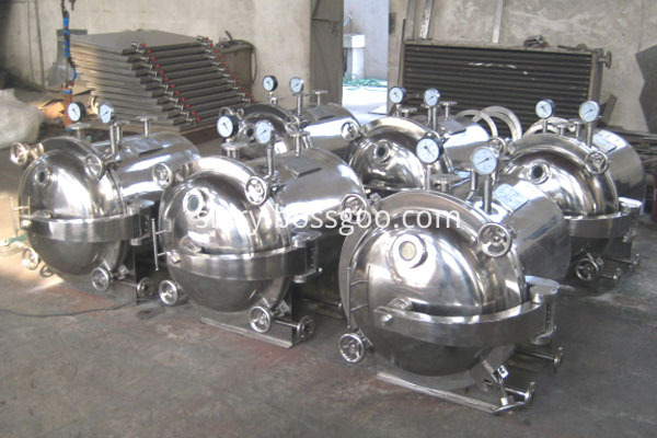 ZKG vacuum harrow dryer equipment