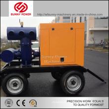 10inch Diesel Wasserpumpe für den Bergbau mit Abfallpumpe