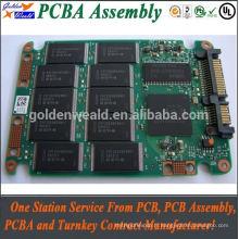 Panneau de carte PCB de chargeur de batterie de 2layer pcba 12v avec 2layer bga pcba bom gerber files