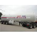 60cbm lpg transport trailer / lpg transport tank semi trailer / lpg transport truck tanks