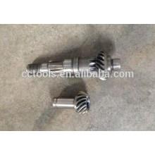 engranaje impulsor de la motosierra y engranaje conducido para el motor 1E45F fabricado en China para la venta