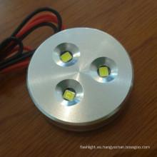 DC12V 1.5W superficie montada LED mini gabinete luz 9LC7263D)