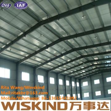 Estructura de estructura de acero con diseño de Wiskind para una calidad superior