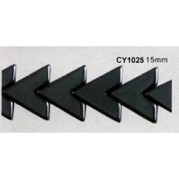 Бусины гематит «V» 15 мм