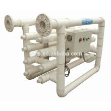 254nm UPVC / SS 316 Esterilizador UV para la agricultura marina