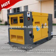 50Гц 380В трехфазный молчком тепловозный генератор 20 кВА