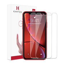 KANTOU 2.5D HD gehard glas voor iPhone XR