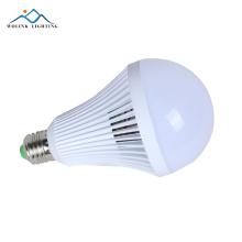 Ampoule de secours menée rechargeable 5w de filament en aluminium d'intérieur de haute qualité